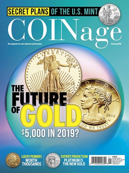 Coinage Cover - 1/1/2019