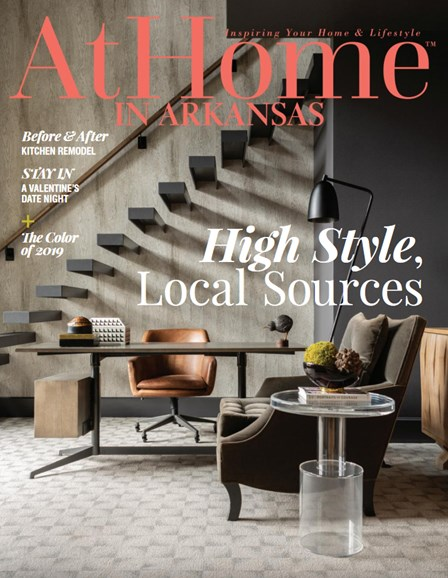 At Home In Arkansas Cover - 1/1/2019