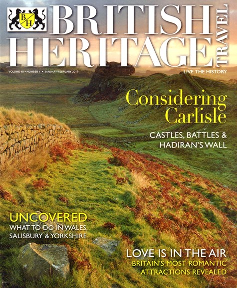 British Heritage Travel Cover - 1/1/2019