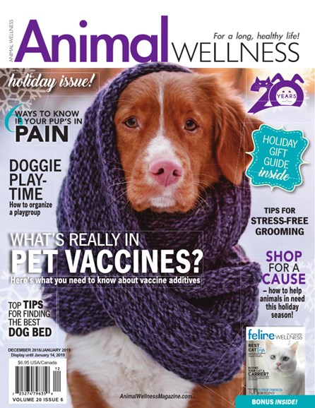 Animal Wellness Cover - 12/1/2018