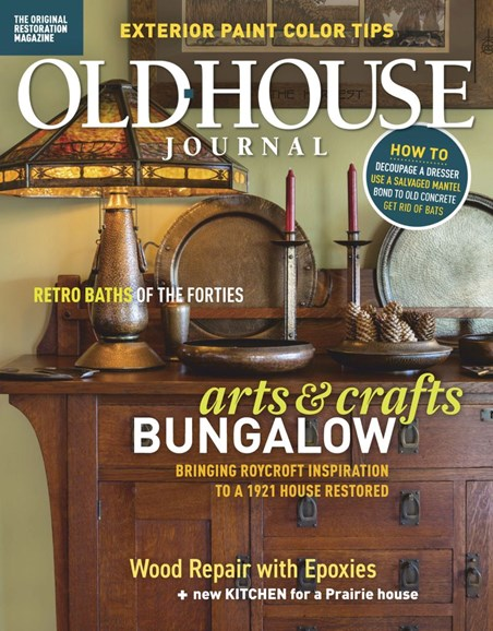 Old House Journal Cover - 1/1/2019