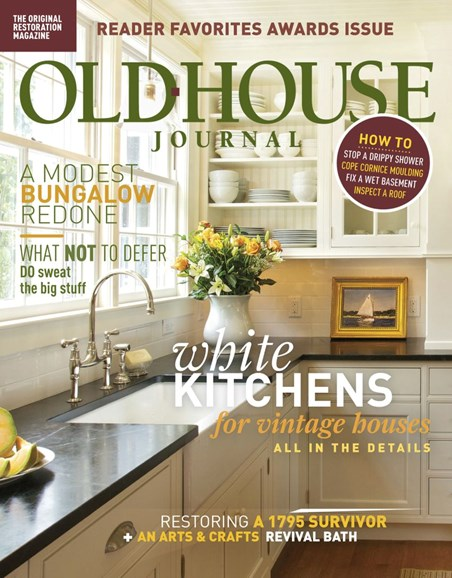 Old House Journal Cover - 11/1/2018