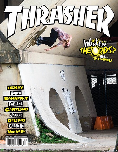 Thrasher Cover - 2/1/2019