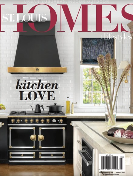 St. Louis Homes & Lifestyles Cover - 1/1/2019