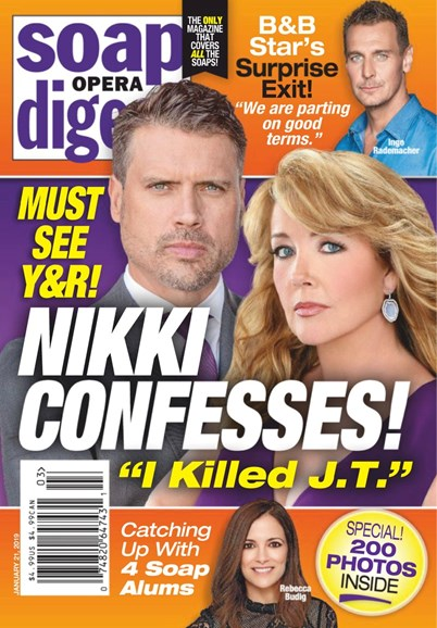 Soap Opera Digest Cover - 1/21/2019