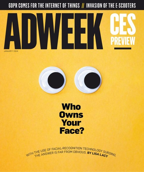 Adweek Cover - 1/7/2019
