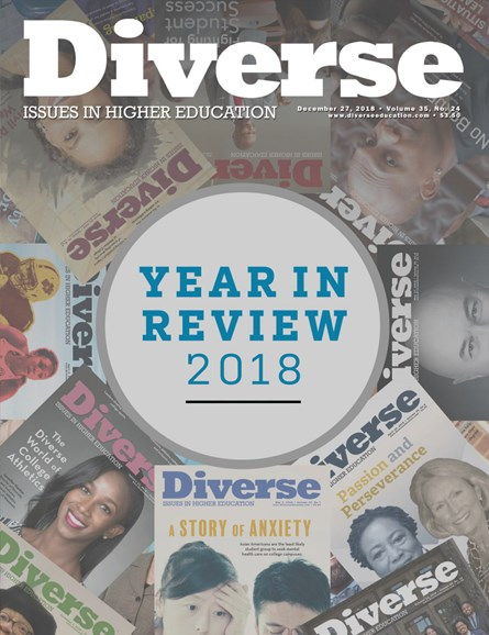 Diverse: Issues In Higher Education Cover - 12/27/2018