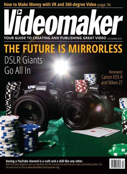 Videomaker Cover - 12/1/2018