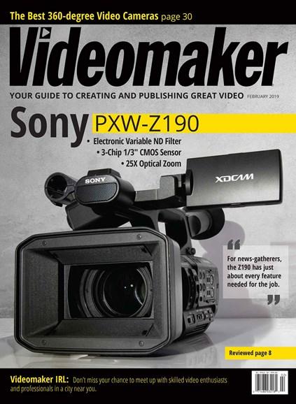 Videomaker Cover - 2/1/2019
