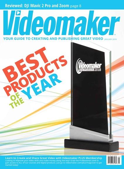 Videomaker Cover - 1/1/2019