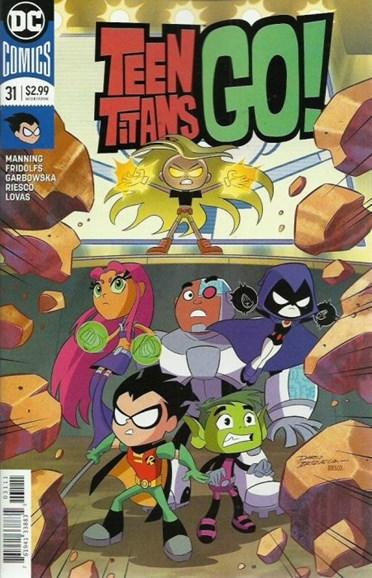Teen Titans Go! Cover - 1/1/2019
