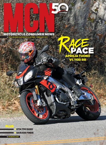 Motorcycle Consumer News Cover - 2/1/2019