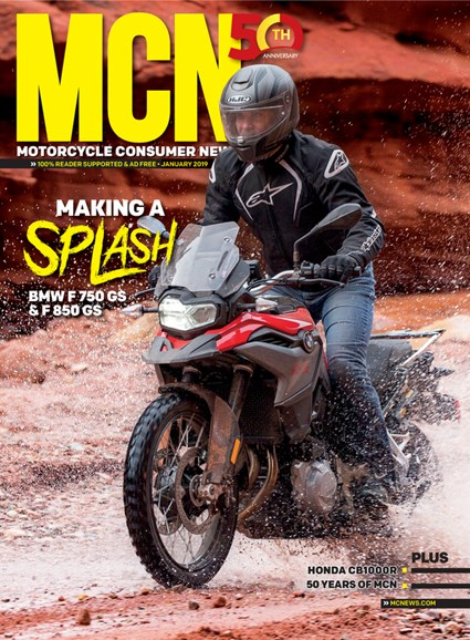 Motorcycle Consumer News Cover - 1/1/2019