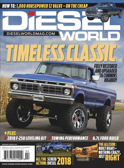 Diesel World Cover - 2/1/2019