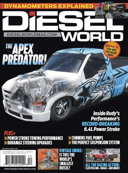 Diesel World Cover - 12/1/2018