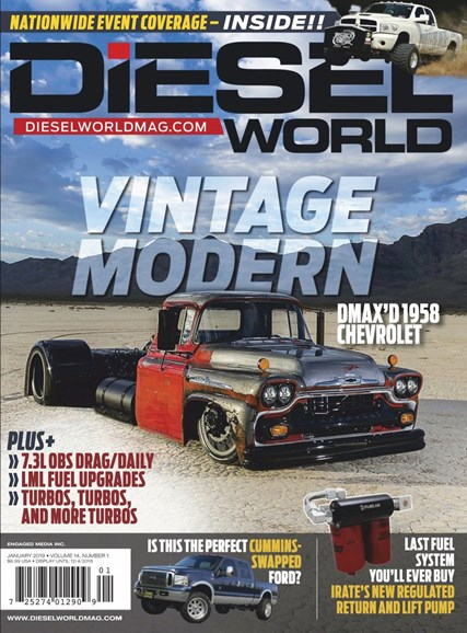 Diesel World Cover - 1/1/2019