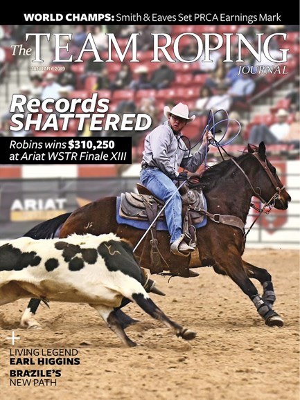 The Team Roping Journal Cover - 1/1/2019
