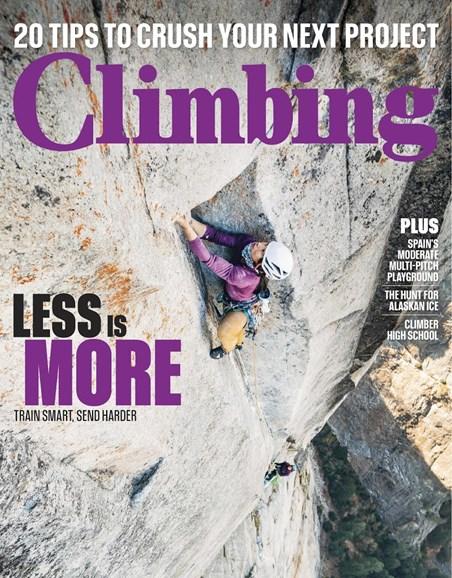 Climbing Magazine Cover - 2/1/2019