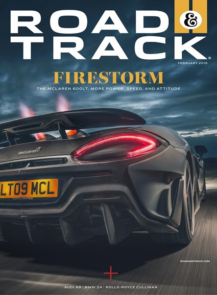 Road & Track Cover - 2/1/2019