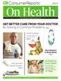 Consumer Reports On Health Magazine   2/2019 Cover