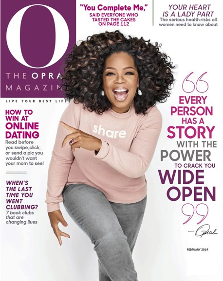 O The Oprah Cover - 2/1/2019