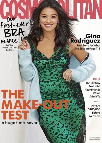 Cosmopolitan Cover - 2/1/2019