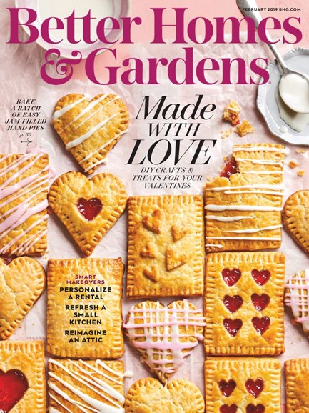Better Homes & Gardens Cover - 2/1/2019