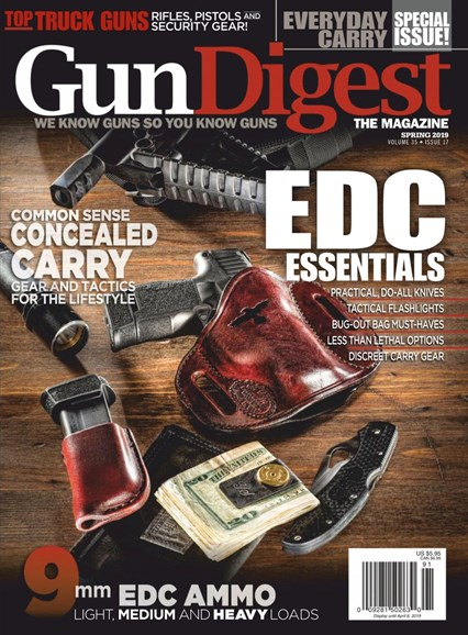Gun Digest Cover - 3/1/2019