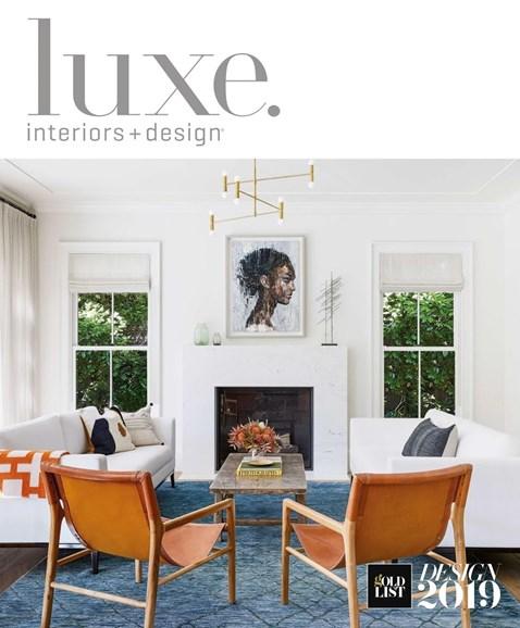 Luxe Interiors & Design Cover - 1/1/2019