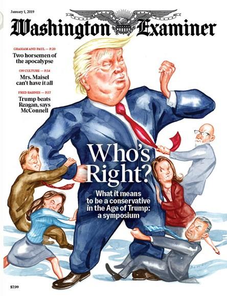 Washington Examiner Cover - 1/1/2019