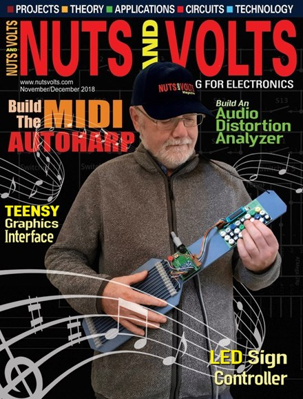 Nuts & Volts Cover - 11/1/2018