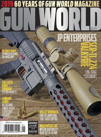 Gun World Cover - 1/1/2019