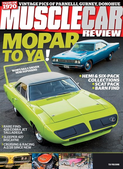 Muscle Car Review Cover - 2/1/2019