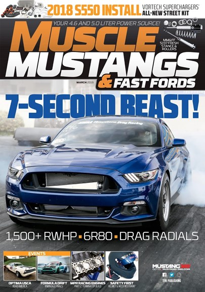 Muscle Mustangs & Fast Fords Cover - 3/1/2019