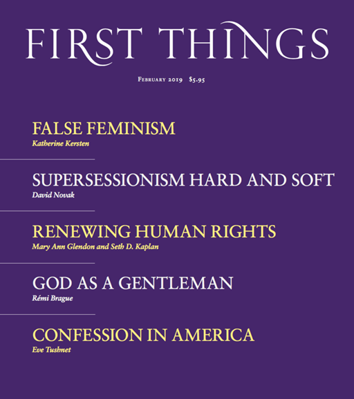 First Things Cover - 2/1/2019