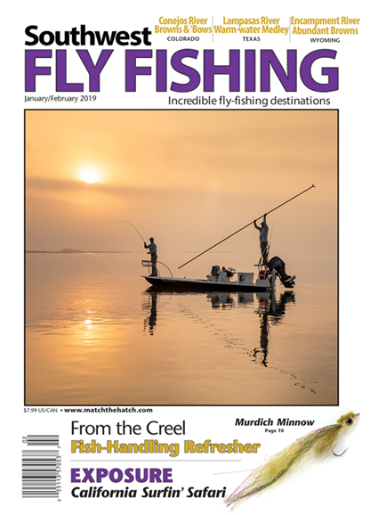 Southwest Fly Fishing Cover - 1/1/2019