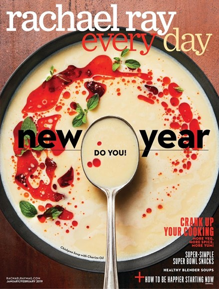 Rachael Ray Every Day Cover - 1/1/2019