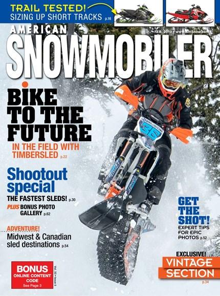 American Snowmobiler Cover - 2/1/2019