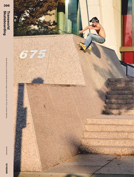 Transworld SKATEboarding Cover - 1/1/2019