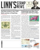 Linn's Stamp News Magazine 1/14/2019