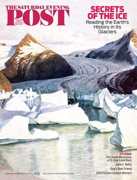 The Saturday Evening Post Cover - 1/1/2019