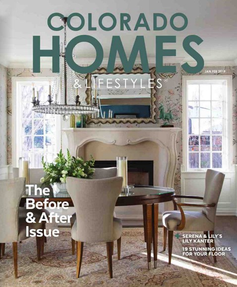 Colorado Homes & Lifestyles Cover - 1/1/2019