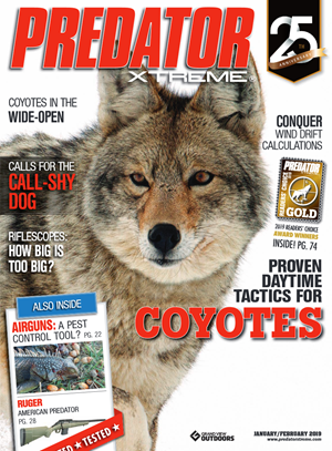 Predator Xtreme Magazine | 1/1/2019 Cover