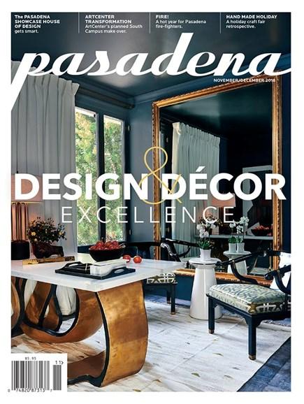 Pasadena Cover - 11/1/2018