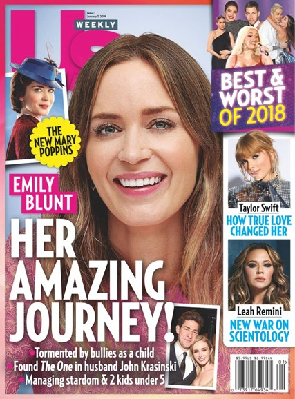 Us Weekly Cover - 1/7/2019