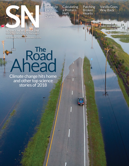 Science News Cover - 12/22/2018