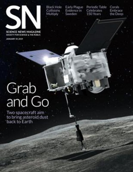 Science News Cover - 1/21/2019
