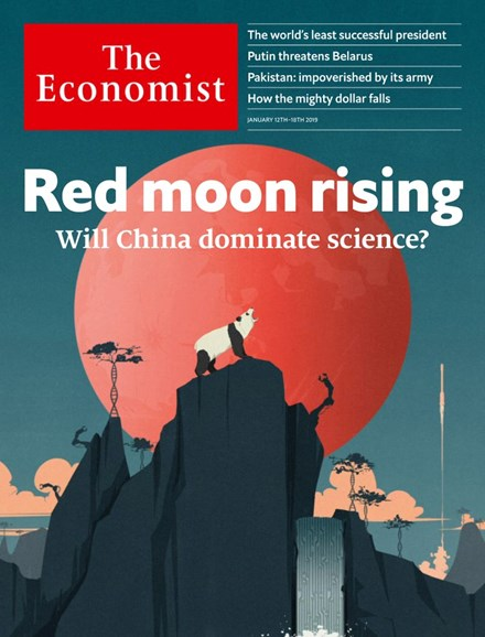 The Economist Cover - 1/12/2019