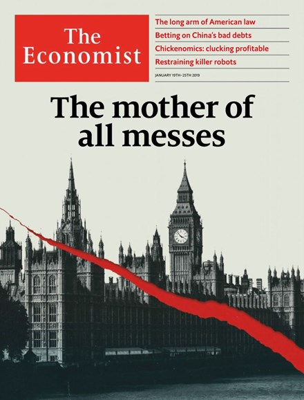 The Economist Cover - 1/19/2019
