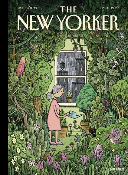 The New Yorker Cover - 2/4/2019
